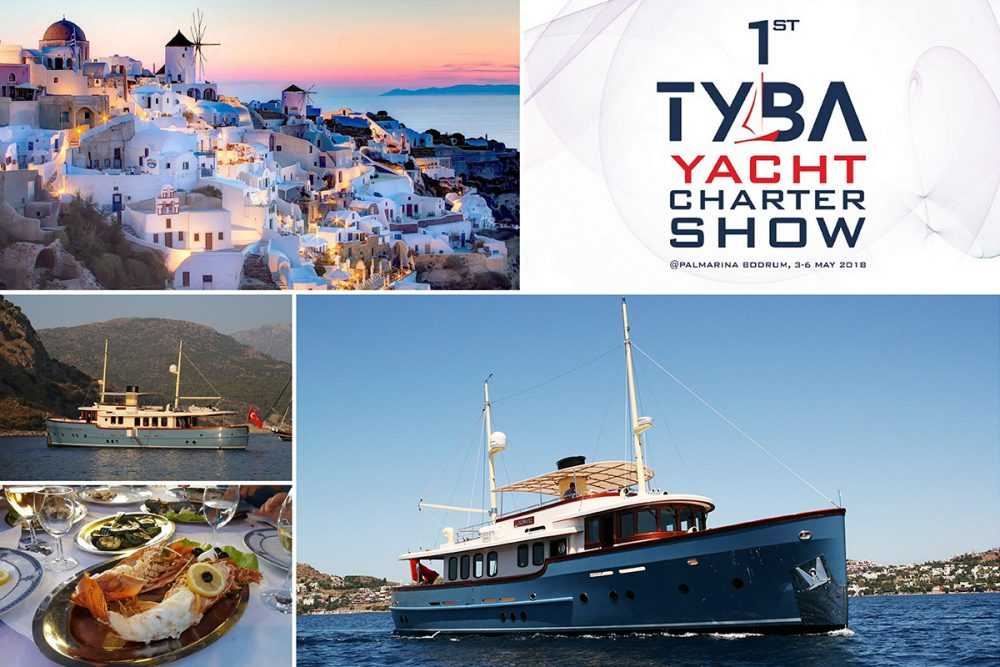 TYBA Yacht Charter Show at Palmarina Bodrum 3-6 May 2018